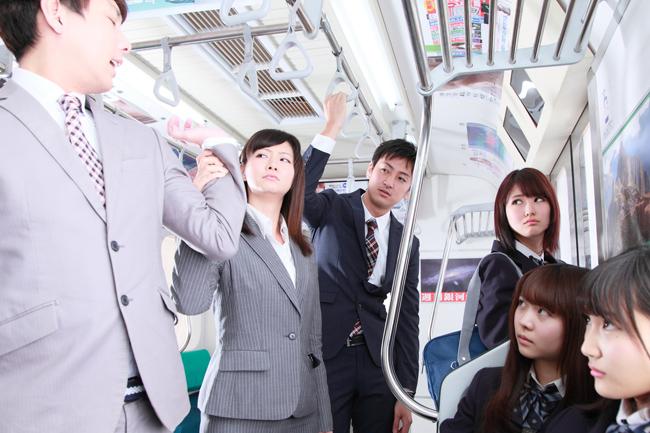 電車内での痴漢