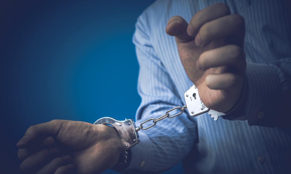 冤罪で逮捕された人